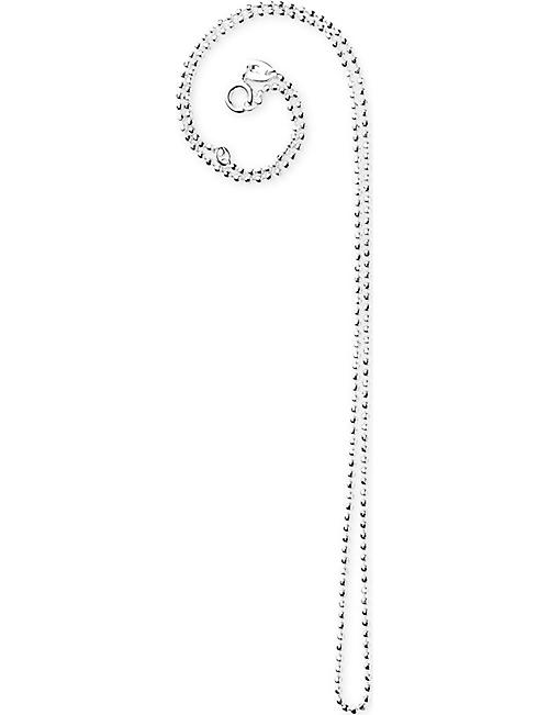 LINKS OF LONDON: Faceted ball chain necklace