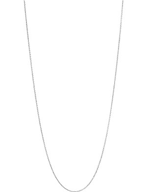 LINKS OF LONDON Essentials sterling silver cable chain 60cm