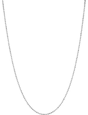 LINKS OF LONDON Essentials sterling silver ball chain necklace 45cm