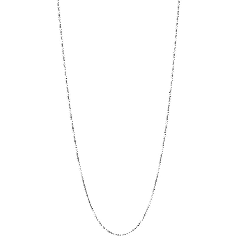 Links Of London Essentials sterling silver ball chain necklace 60cm