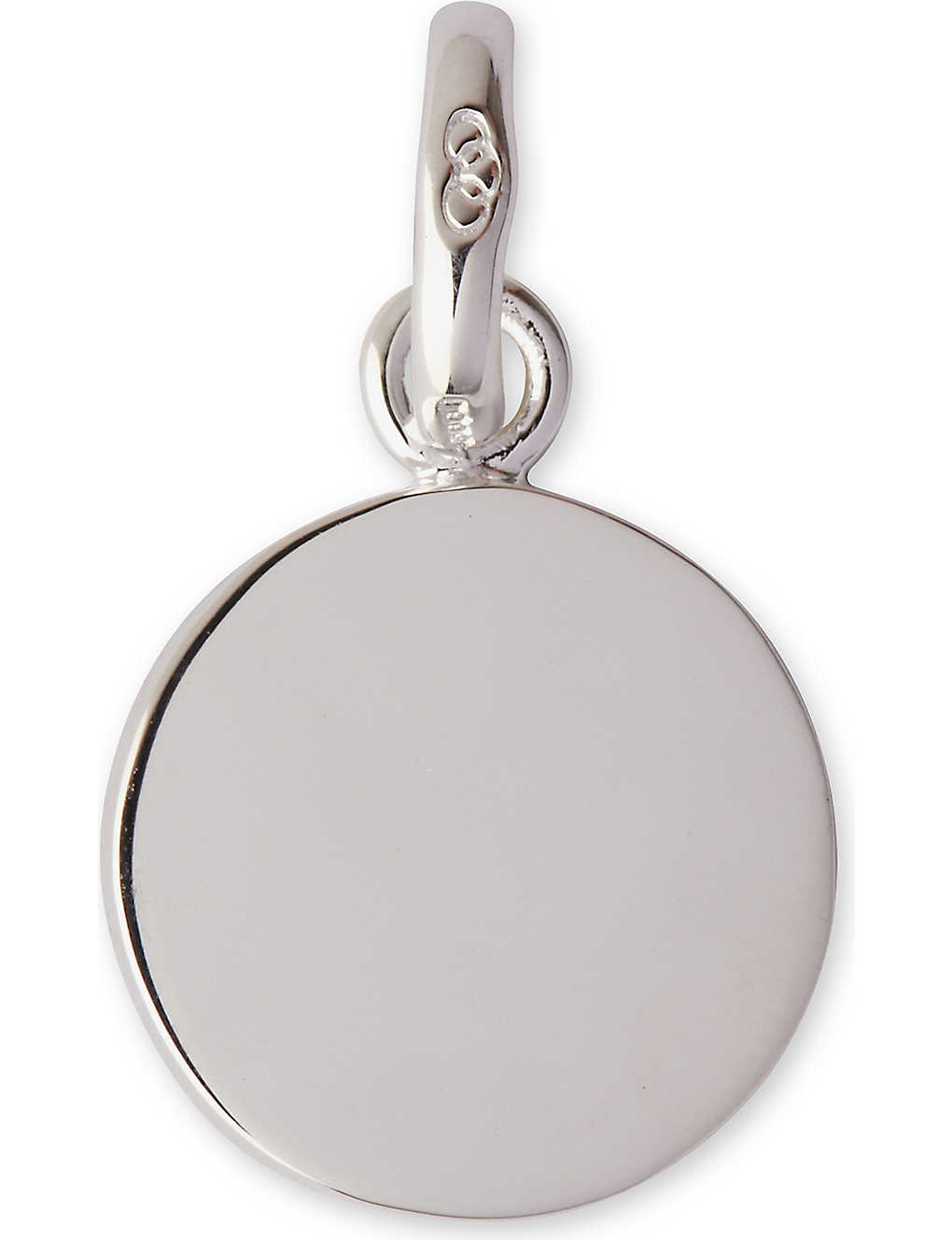 Links Of London Disc Charm In Gray