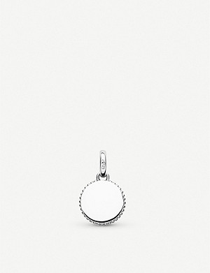 LINKS OF LONDON Narrative mini disc sterling silver pendant