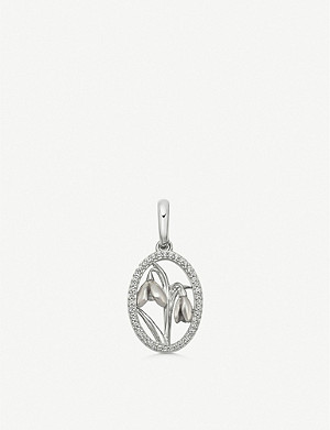 LINKS OF LONDON Sterling silver snowdrop charm