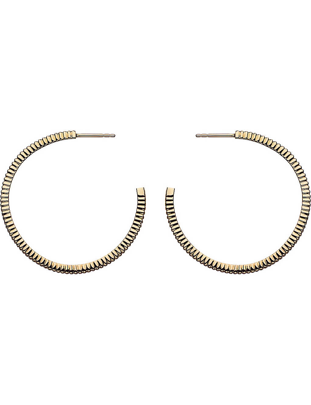 LINKS OF LONDON: Sweetie Signature 18ct gold earrings hoop earrings