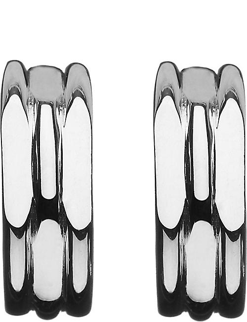 LINKS OF LONDON 20/20 sterling silver hoop earrings