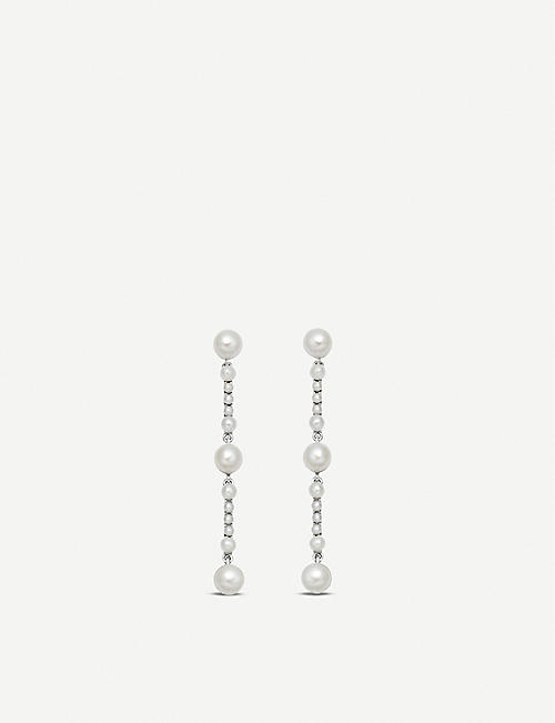 dd55c3fc31267 LINKS OF LONDON Orbs sterling silver and pearl drop earrings