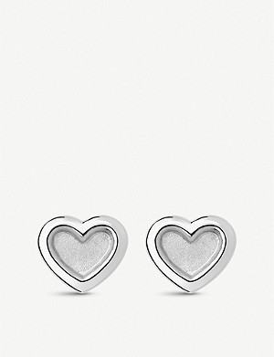 LINKS OF LONDON Endless Love sterling silver stud earrings