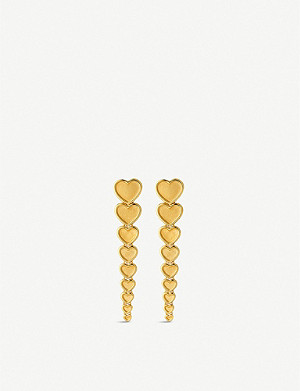 LINKS OF LONDON Endless Love 18ct yellow-gold vermeil earring