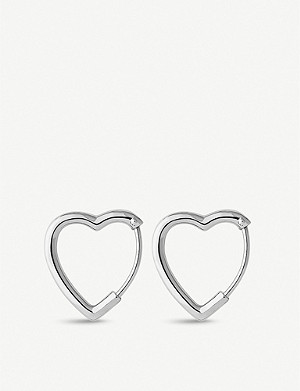 LINKS OF LONDON Endless Love rhodium-plated sterling silver earrings