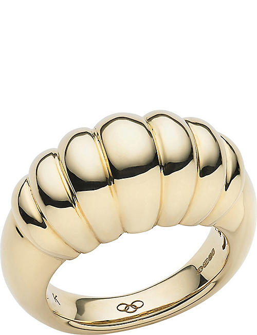 LINKS OF LONDON Sweetie Signature 18ct yellow-gold ring