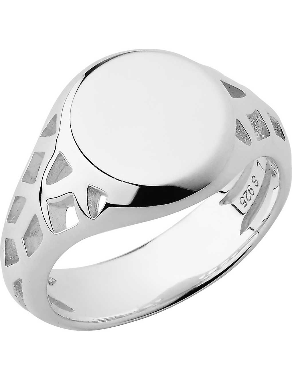 LINKS OF LONDON: Timeless sterling silver signet ring