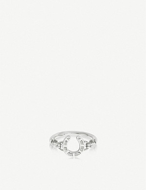 LINKS OF LONDON Ascot sterling silver horseshoe ring