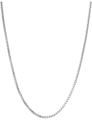 LINKS OF LONDON Essentials stainless mini box belcher chain