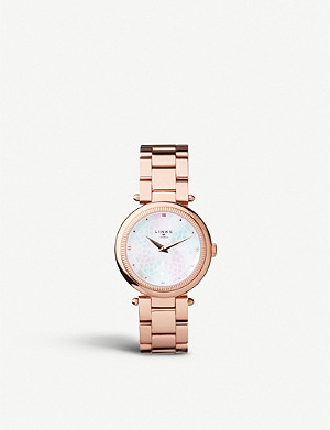 LINKS OF LONDON Timeless rose gold-toned watch