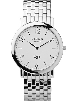LINKS OF LONDON Noble slim stainless steel watch