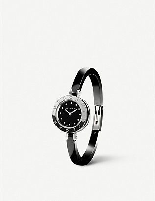 BVLGARI: B.zero1 steel and ceramic watch