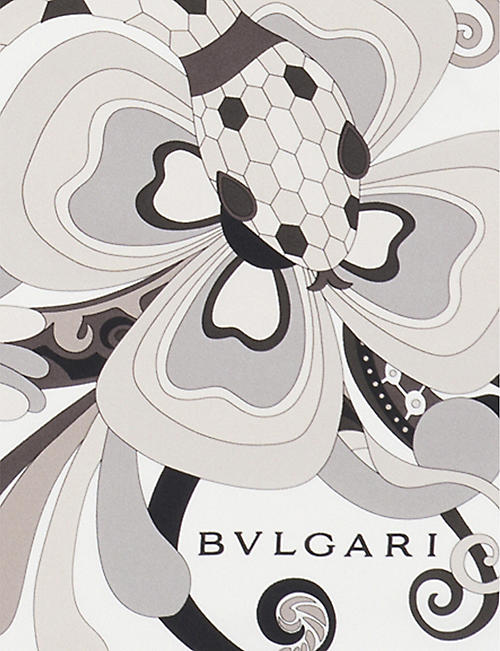 BVLGARI 'Serpenti Love Yard' twill silk scarf
