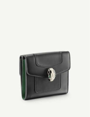 BVLGARI Serpenti Forever leather wallet