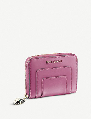 BVLGARI Serpenti Forever zipped leather wallet
