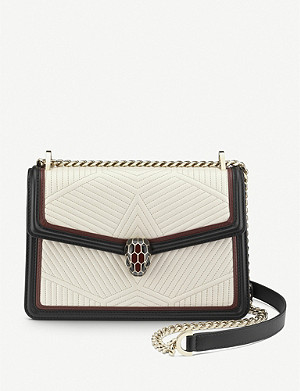BVLGARI Serpenti Forever quilted-leather shoulder bag
