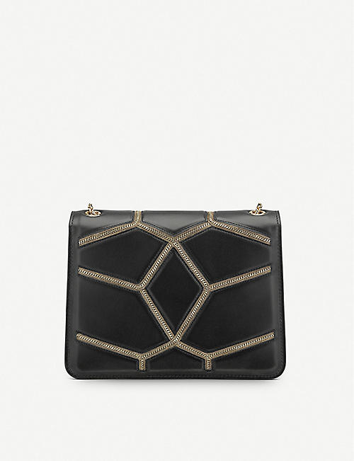 BVLGARI Serpenti Forever chain stardust calf leather shoulder bag