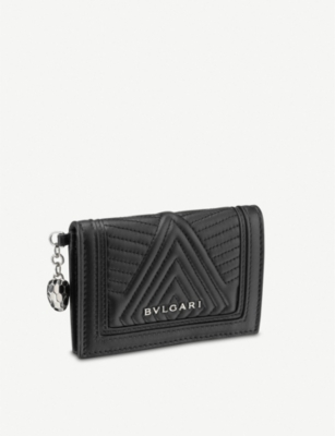 BVLGARI Serpenti Forever leather card holder