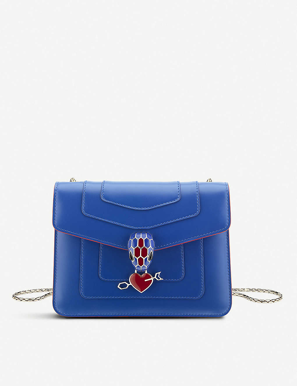 BVLGARI: Electro Love Serpenti Forever leather shoulder bag