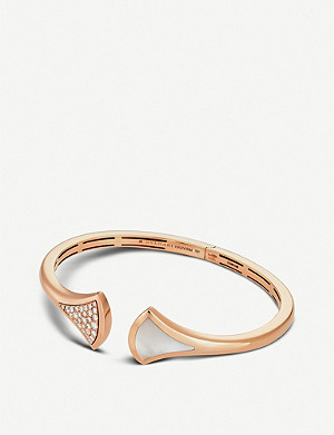 BVLGARI Diva's Dream 18ct Pink Gold-Plated Bracelet