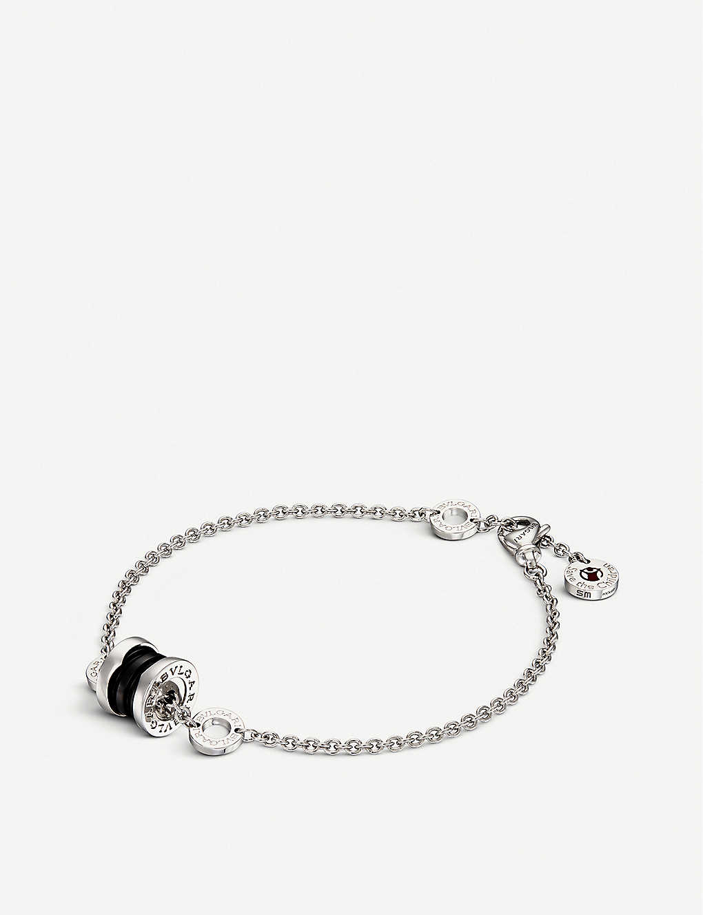 BVLGARI Save The Children sterling silver charm bracelet