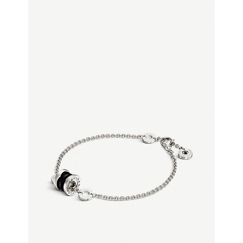 BVLGARI   Bvlgari Save The Children Sterling Silver Charm Bracelet   Goxip