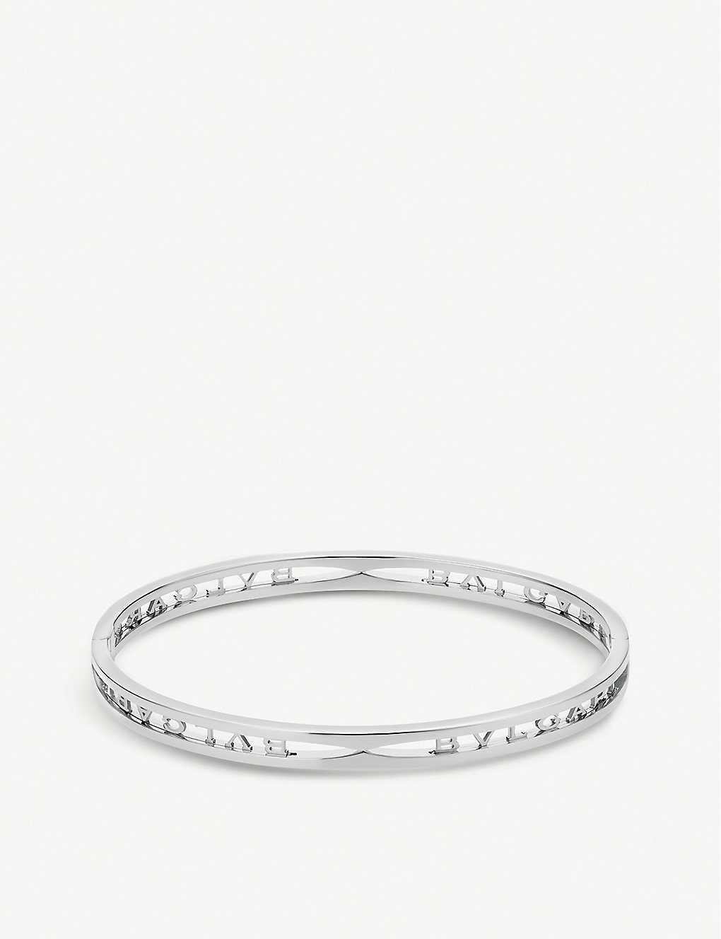 BVLGARI B.zero1 18ct white-gold bracelet