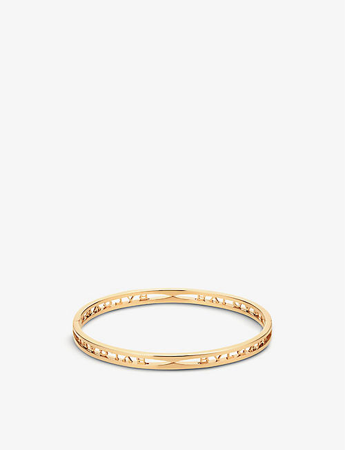 BVLGARI: B.zero1 18ct yellow-gold bracelet