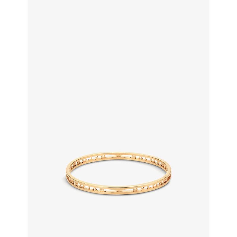 BVLGARI   B.Zero1 18ct Yellow-Gold Bracelet   Goxip