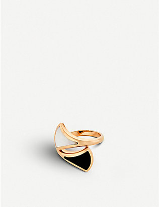 BVLGARI: Divas Dream 18kt pink-gold ring