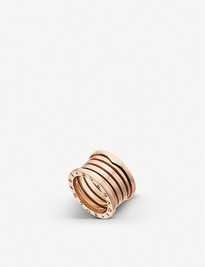 BVLGARI B.zero1 XXth Anniversary five-band 18ct yellow-gold ring