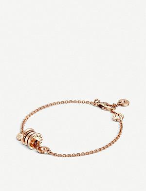 73212911a39ce TIFFANY & CO - Tiffany City HardWear 18ct gold ball bypass bracelet ...