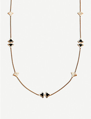 BVLGARI: Divas Dream Sautoir 18kt pink-gold necklace