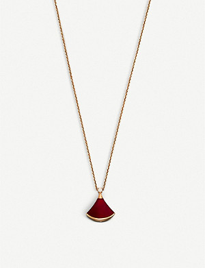 BVLGARI Divas' Dream 18kt pink-gold and diamond necklace