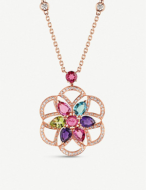 BVLGARI Diva's Dream 18ct rose-gold necklace