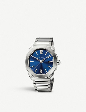BVLGARI Octo Roma stainless steel watch