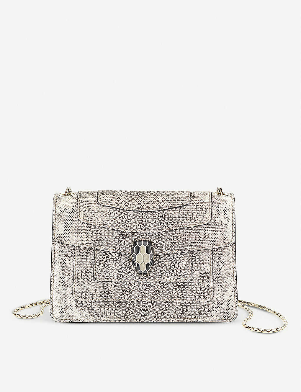 940298443af Serpenti Forever micro leather cross-body belt bag
