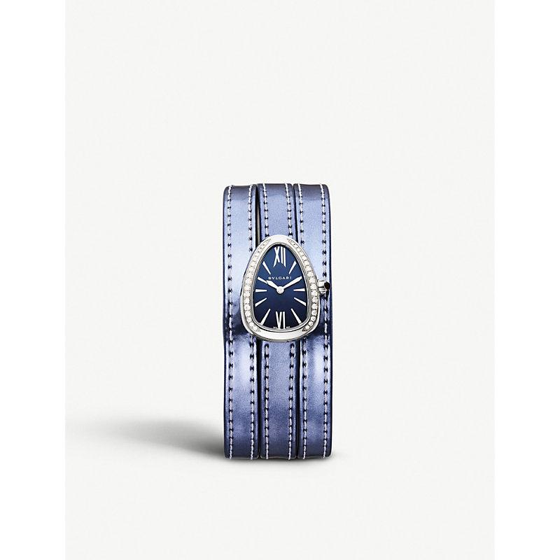 BVLGARI   Serpenti Interchangable Strap Watch   Goxip
