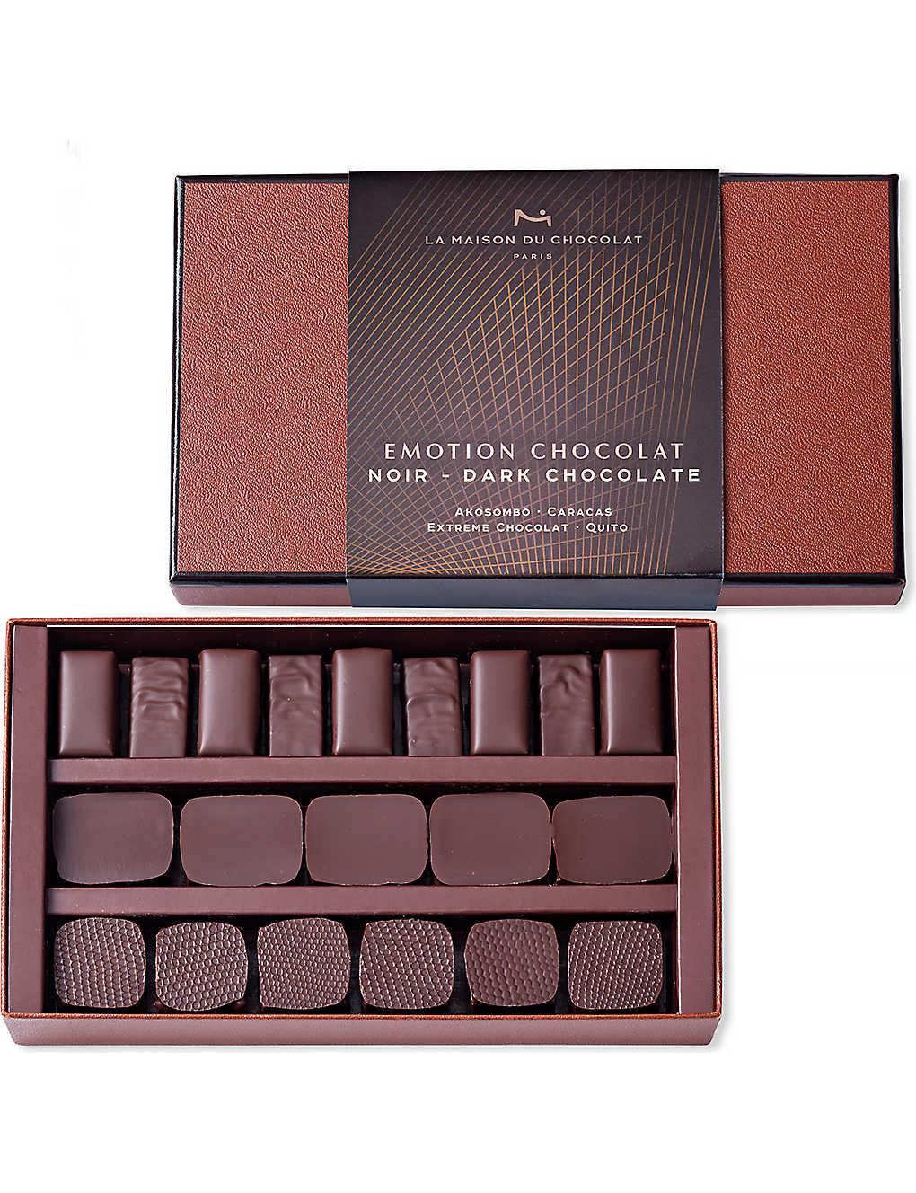 Maison Du Puzzle Paris la maison du chocolat - emotion 21-piece dark chocolate