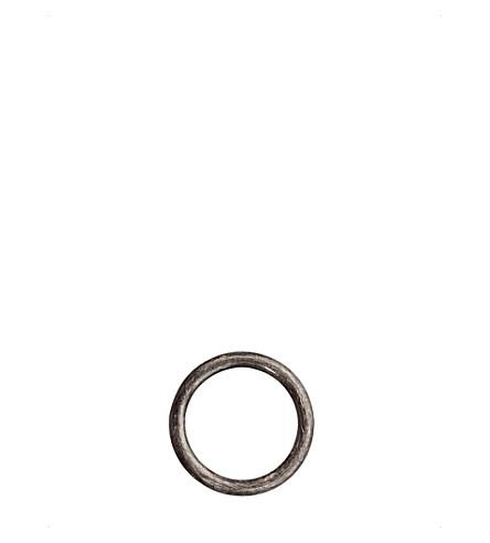 Annoushka Hoopla 18ct white-gold small hoop pendant