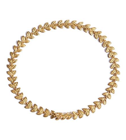 Annoushka Vine 18ct gold and diamond bracelet