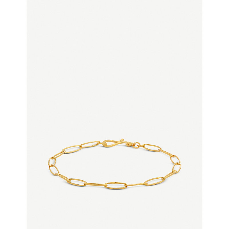 Annoushka Organza 18ct yellow-gold charm bracelet