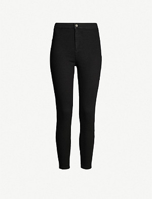 5e6f6dec46d7 TOPSHOP - Joni super-skinny high-rise leopard-print jeans ...