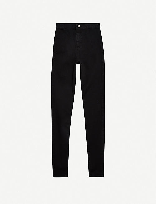 TOPSHOP: Joni skinny high-rise stretch-denim jeans