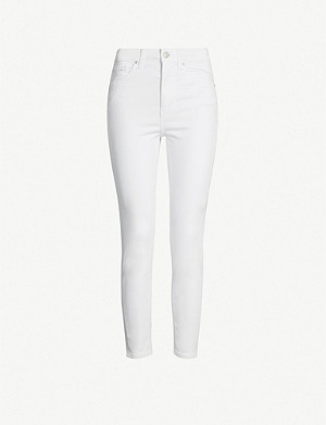 TOPSHOP Jamie high-rise cropped skinny jeans