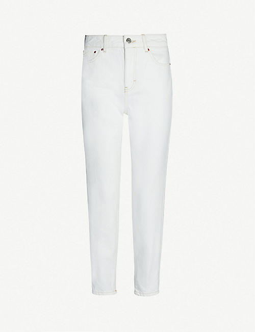 TOPSHOP Mom high-rise tapered jeans e7dd10440